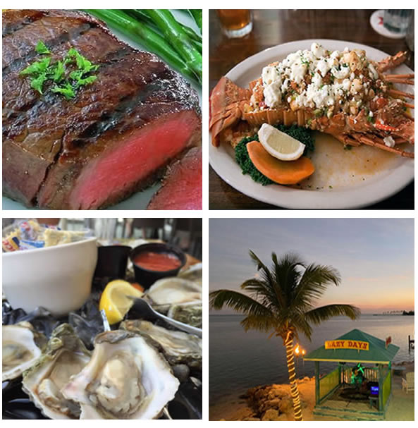 Exquisite Oceanfront Dining At Lazy Days Islamorada