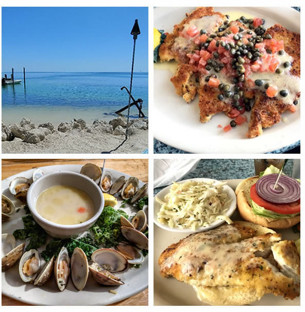 Enjoy A Delicious Lunch At Lazy Days Islamorada